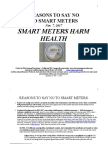 Reasons to Say No to Smart Meters