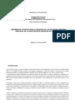 Lineamientos técnicos IPS(RIPS)