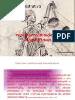 Direito administrativo princípios constitucionais adm