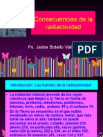 Consecuencias de La Radiactividad Jaime Botello V.