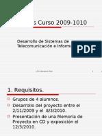 Proyectos DSTI Curso 2009-2010