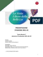Teatro Binario 7_Cartella Stampa_Stagione 2021-22