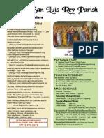 MSLRP Bulletin 4-10-11
