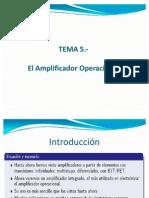 presentacion OPAMPS ideales y prácticos 2009