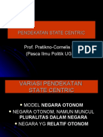 State Centric 3 Approach dalam Kajian Politik Indonesia