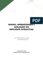 ENSINO, APRENDIZAGEM E AVALIAÇÃO DO DEFICIENTE INTELECTUAL