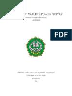 Desain dan Analisis power suppley,Latex Norman
