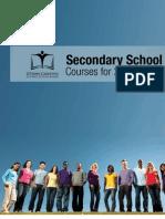 OCDSB Secondary School Courses 2011-2012