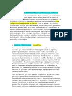 CONDUCTA Y COMPOTAMIENTO, ESCUELAS.