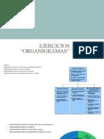 EJERCICIOS RECONOCIENDO TIPOS Y SUBTIPOS DE ORGANIGRAMAS