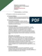 ESTUDO DIRIGIDO TERMODINAMICA - CLAPEYRON