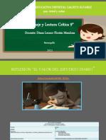Presentación Lectura crítica