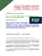 DIREITO CONSTITUCIONAL - QUESTOES COM GABARITO COMENTADO SOBRE ARTIGO 5º, NACIONALIDADE E PODER CONSTITUINTE
