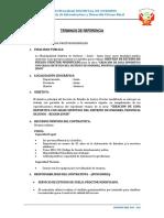 Tdr-servicio de Proctor Modificado