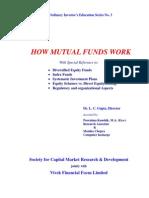 Educational Brochure No.3 - How Mutual Funds Work