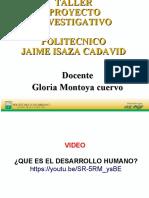 1. CURSO DE PROYECTOS POLI GLORIA PRIMERA PARTE