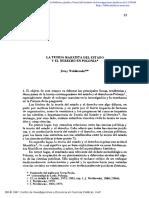 Jerzy Wróblewski - 1987 - La teoría marxista del Estado y el derecho en Polonia
