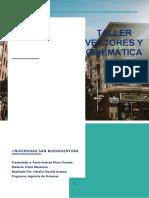 Taller_vectores y Conceptos Cinemática