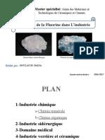utilisation de la fluorine dans l_industrie