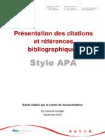 Apa Guidecitationsreferences