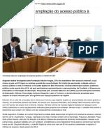 Portal Cmbh - Comissao Discutiu Ampliacao Do Acesso Publico a Internet Em Bh - 2020-11-17