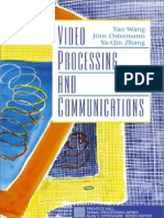 Video Processing & Communications - Wang