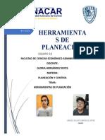 PLANEACION Y CONTROL EQUIPO 10, ESCRITO
