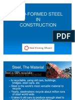 Cold-Formed Steel in Construction