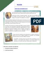 Ficha de Jeremías