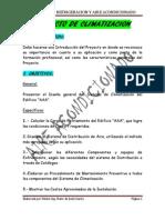 GUIA DEL PROYECTO DE CLIMATIZACION