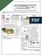 1ª semana de atividades - 4° ano - Língua Portuguesa - Copia