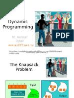 Dynamic Programming [Dr. Ashraf Iqbal] (www.myUET.net.tc)