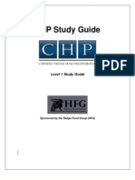 Certified Hedge Fund Professional Study Guide