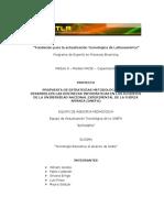 Proyecto de Capacitación Docente en el uso de las TIC