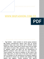 Big Fashion - Advertising Campaign