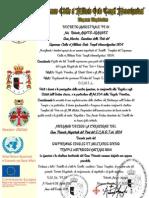 Se crea el gran priorato Magistrale del Peru