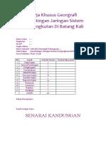 Folio Georgrafi Kepentingan jaringan sistem pengangkutan