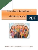 Estrutura familiar e dinâmica social.