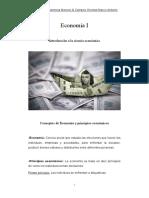 U1.Concepto de Economía y Principios Economicos