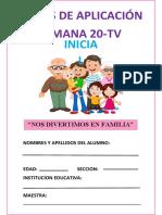 FICHAS DE APLICACION TV-1