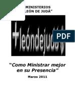 MINISTRANDO MEJOR