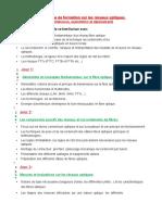 Programme de formation sur la maintence, l'exploitation et le déploiement des réseaux fibre optiquie.