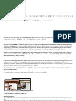 Llega la nueva plataforma de Filemaker 18 – Louesfera