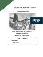 2 PRIMEIRA EUCARISTIA - CATEQUIZANDO