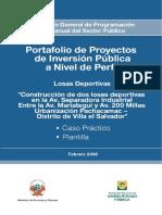 Espacios Deportivos - Caso Practico y Plantilla