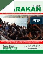 Arakan Journal, January 2011