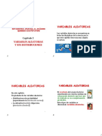 Capitulo 2-Variables Aleatorias y Distribuciones