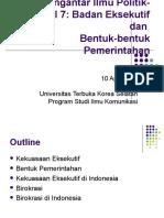 Pengantar Ilmu Politik-Modul 7