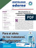 Caracteristicas y Ventajas de Microimplantes