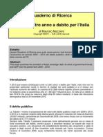 2010 Un Altro Anno a Debito Per Italia